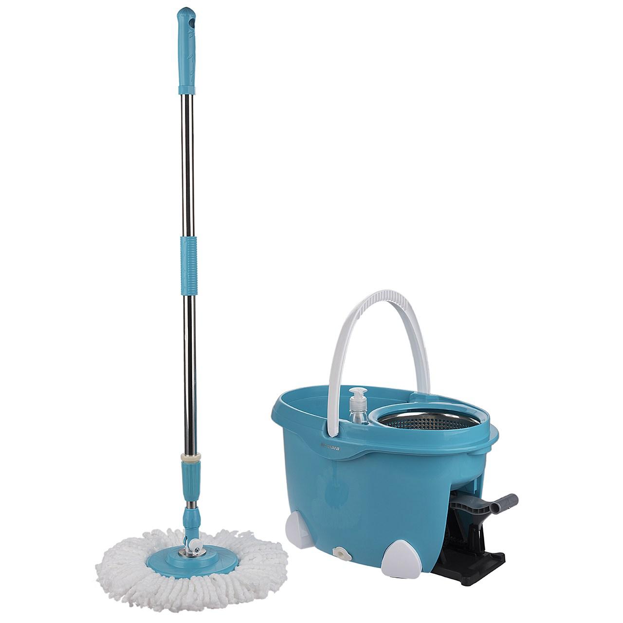 سطل و زمین شوی همارا مدل Rotating Bucket 8699