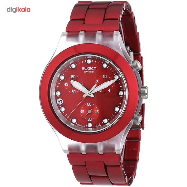 خرید ساعت مچی عقربه ای سواچ مدل SVCK4044AG