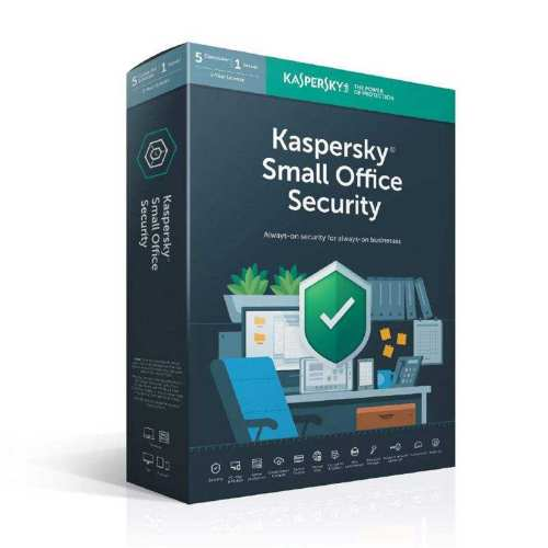 نرمافزار امنیتی کسپرسکی مدل Small Office 5+1 یک ساله نشر پارس