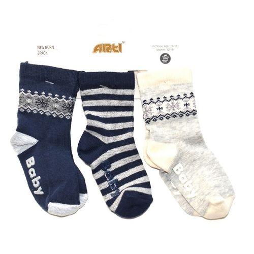 جوراب بچگانه آرتی مدل D104-A مجموعه 3 عددی