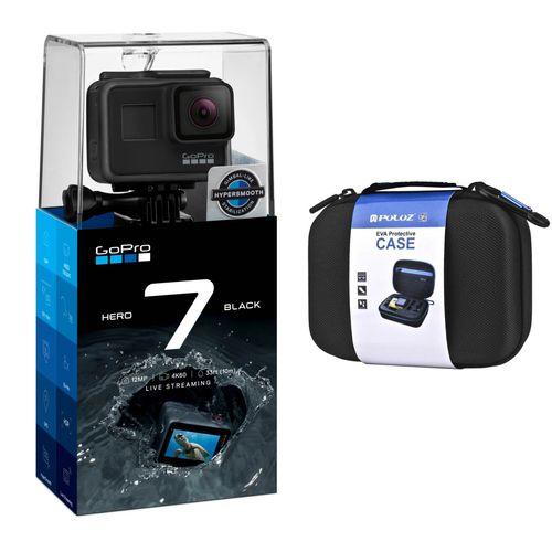دوربین فیلم برداری ورزشی گوپرو مدل HERO 7 Black همراه با کیف پلوز