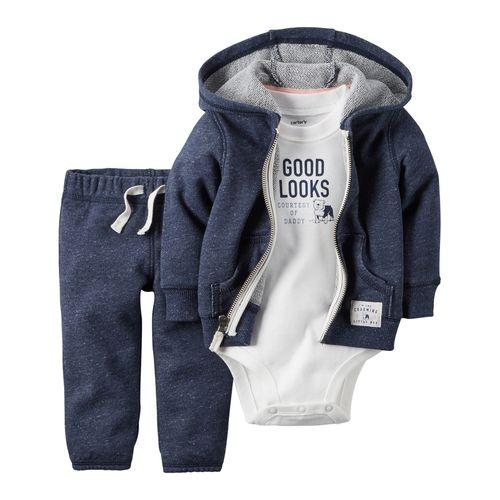ست 3 تکه لباس نوزادی پسرانه کارترز کد 810