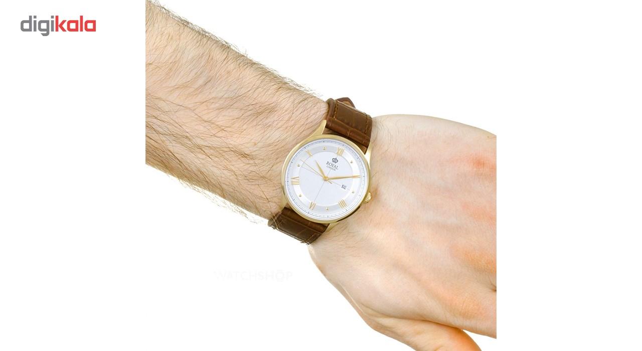 ساعت مچی عقربه ای مردانه رویال  مدل RL-41358-03