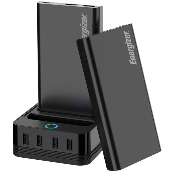 شارژر همراه انرجایزر به همراه پایه شارژ مدل PS20000 ظرفیت 20000 میلی آمپر ساعت