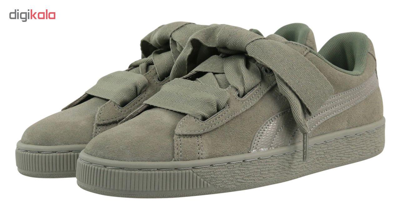 کفش راحتی دخترانه پوما مدل Suede Heart SNK