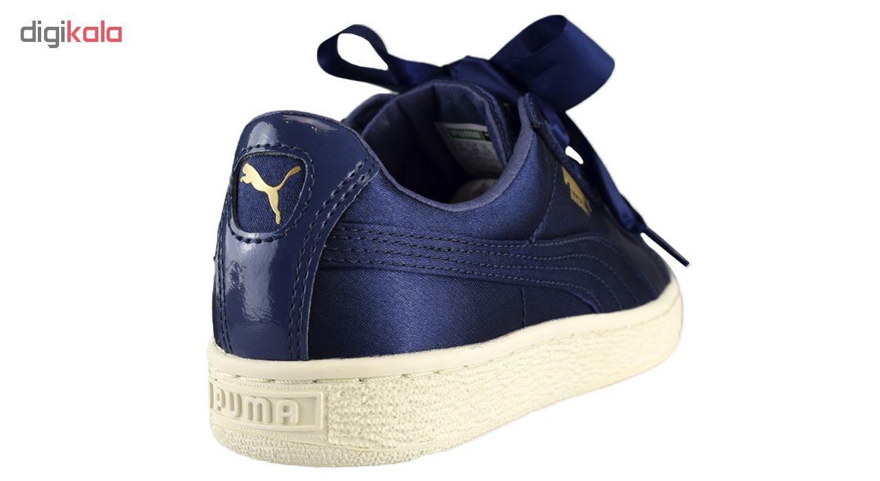 کفش راحتی دخترانه پوما مدل Basket Heart Tween