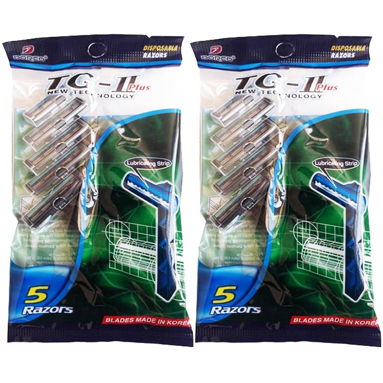 قیمت خودتراش مردانه دورکو مدل TG-II Plus بسته 2 عددی