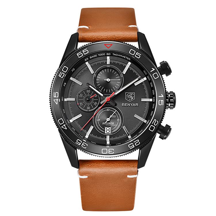 کد تخفیف                                      ساعت مچی عقربه ای مردانه بنیار مدل 5106LGH