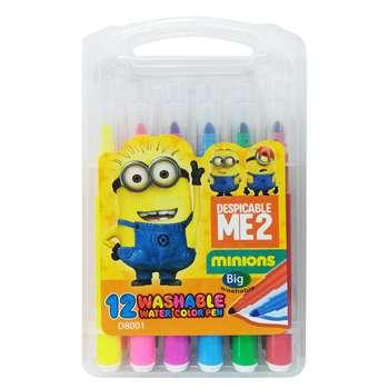 ماژیک آبرنگی 12 رنگ واشابل مدل water color pen |