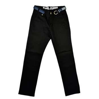 شلوار پسرانه راین مدل Black Cotton 002 |