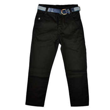 شلوار پسرانه راین جینز مدل Black 011 |