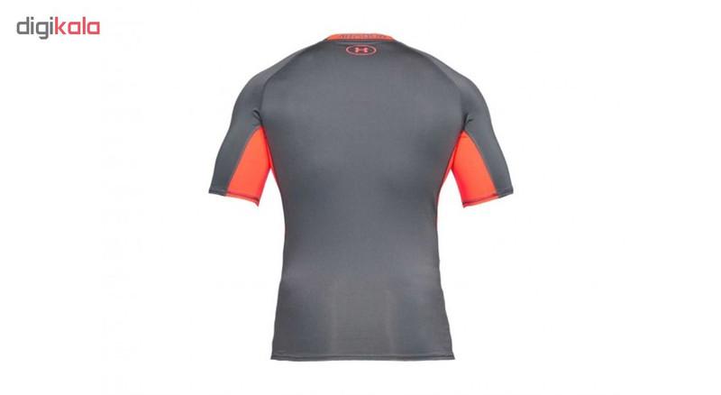 تی شرت ورزشی مردانه آندر آرمور مدل HeatGear Armour Compression کد 076-1257468