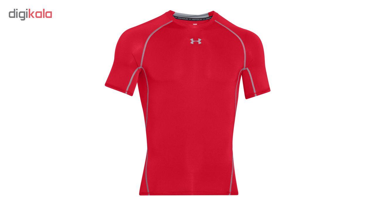 تی شرت ورزشی مردانه آندر آرمور مدل HeatGear Armour Compression کد 600-1257468