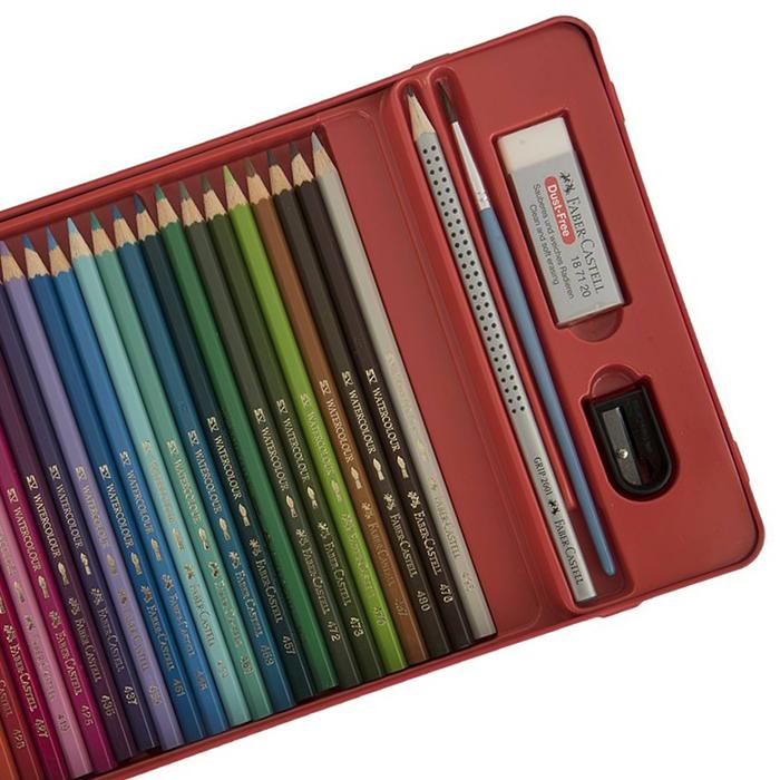 قیمت خرید مداد آبرنگی 48 رنگ فابر کاستل مدل Sketch اورجینال