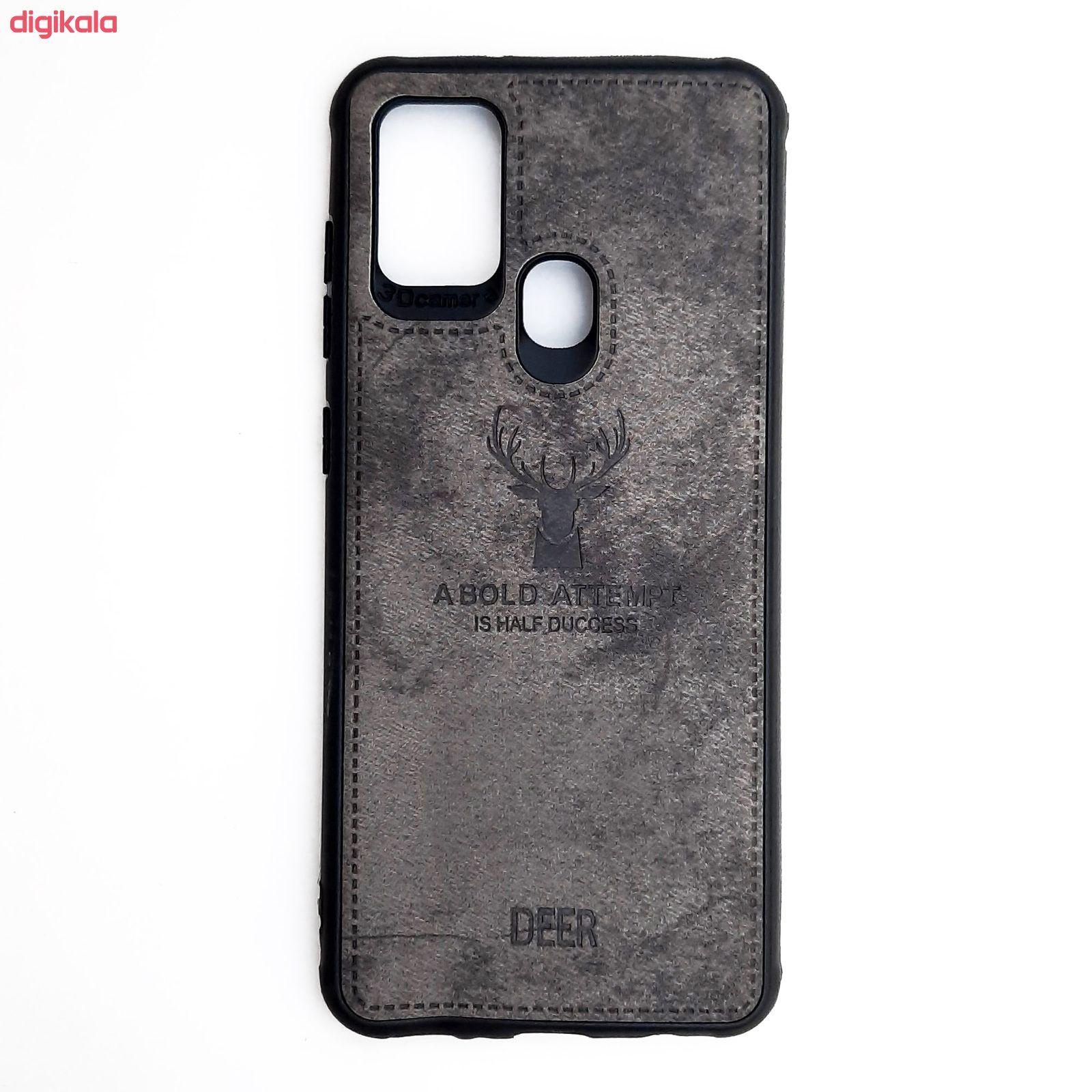 کاور مدل CO508 طرح گوزن مناسب برای گوشی موبایل سامسونگ Galaxy A21s main 1 5