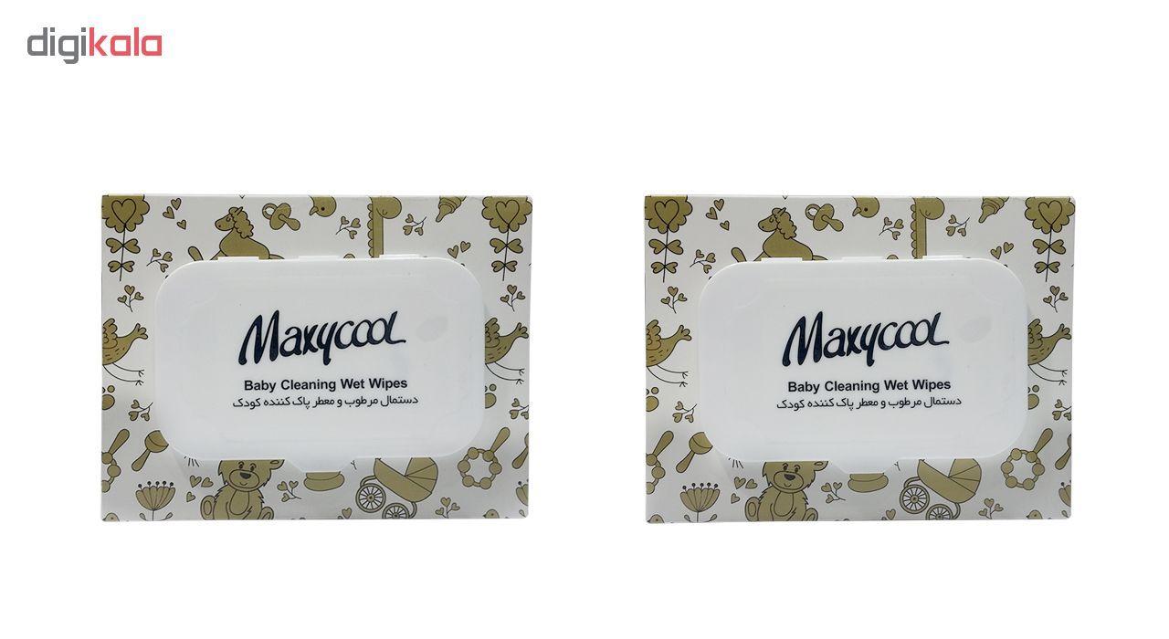 دستمال مرطوب کودک ماکسی کول مدل Body Cleaning دو بسته 40 عددی main 1 1