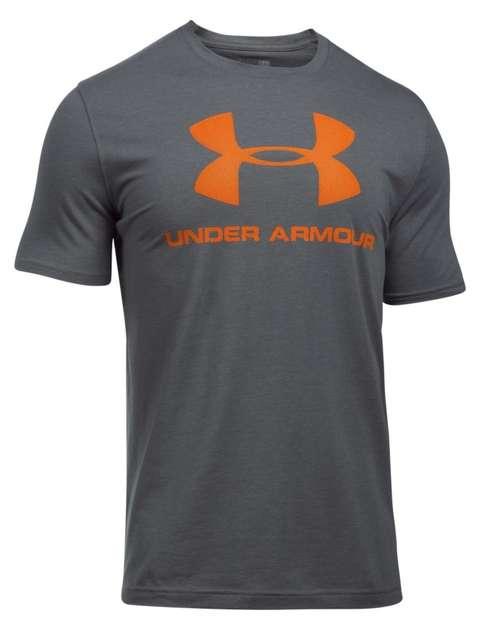 تی شرت ورزشی مردانه آندر آرمور مدل Sportstyle Logo کد 041-1257615