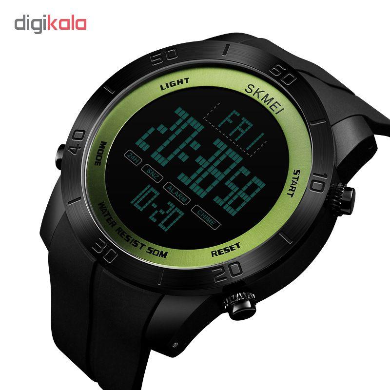 خرید ساعت مچی دیجیتالی مردانه اسکمی مدل 1353G