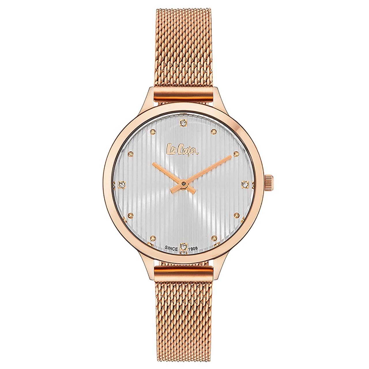 ساعت مچی عقربه ای زنانه لی کوپر مدل LC06460.430 12
