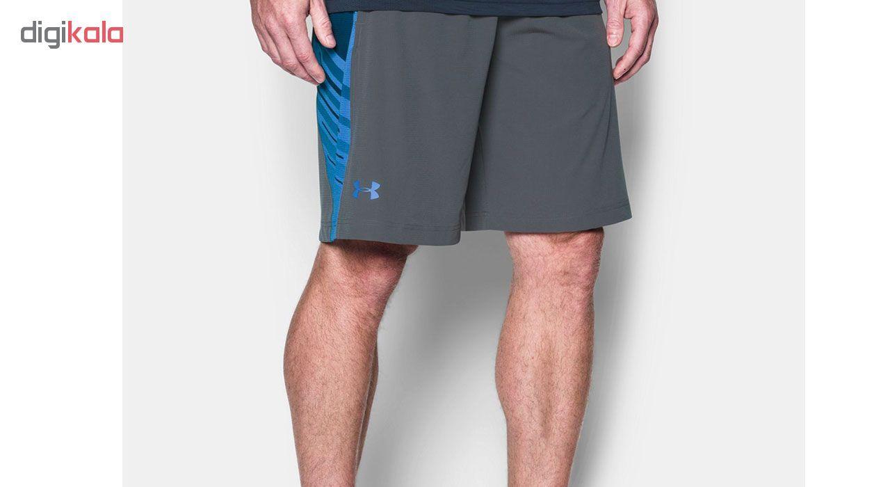شورت ورزشی مردانه آندر آرمور مدل SuperVent Woven -  - 4