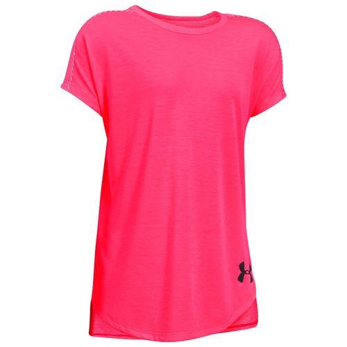 تی شرت ورزشی زنانه آندر آرمور مدل Threadborne Play Up