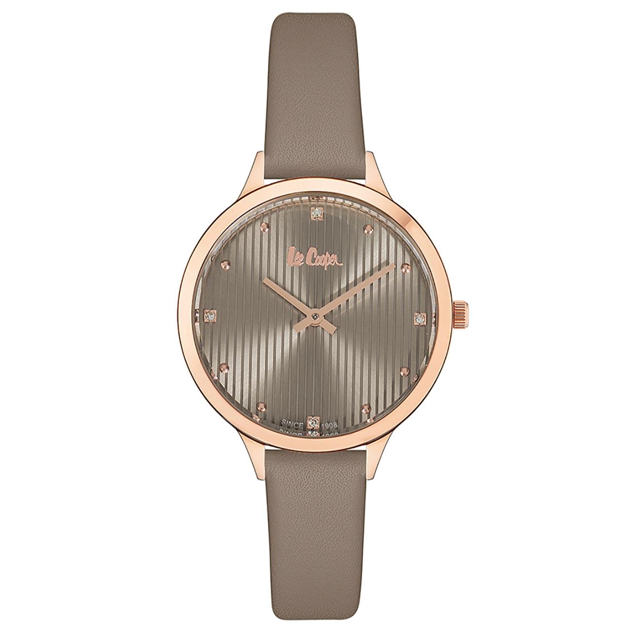 ساعت زنانه برند لی کوپر مدل LC06461.475