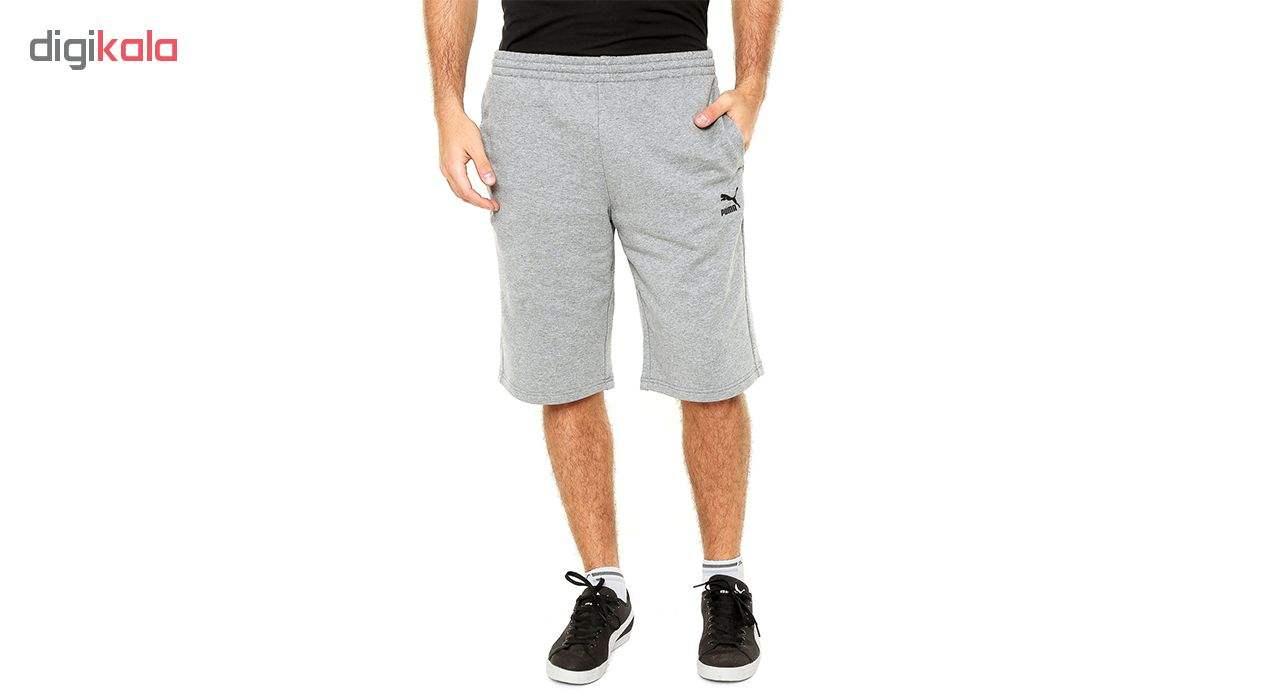 شورت ورزشی مردانه پوما مدل Archive Logo -  - 3