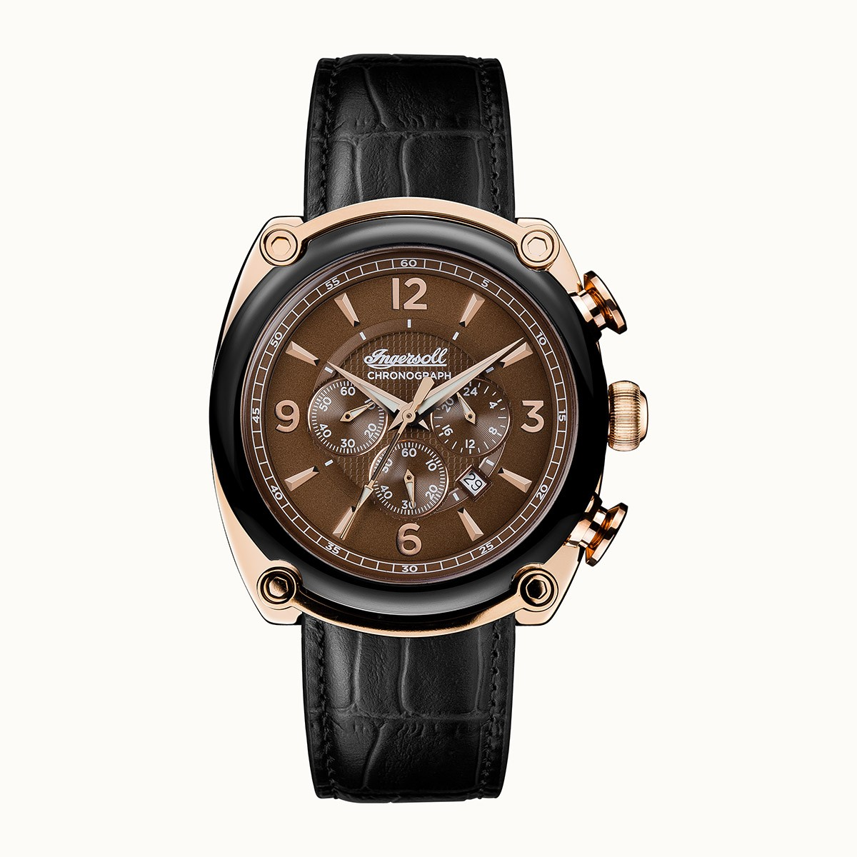 ساعت مچی عقربه ای مردانه اینگرسل مدل I01202