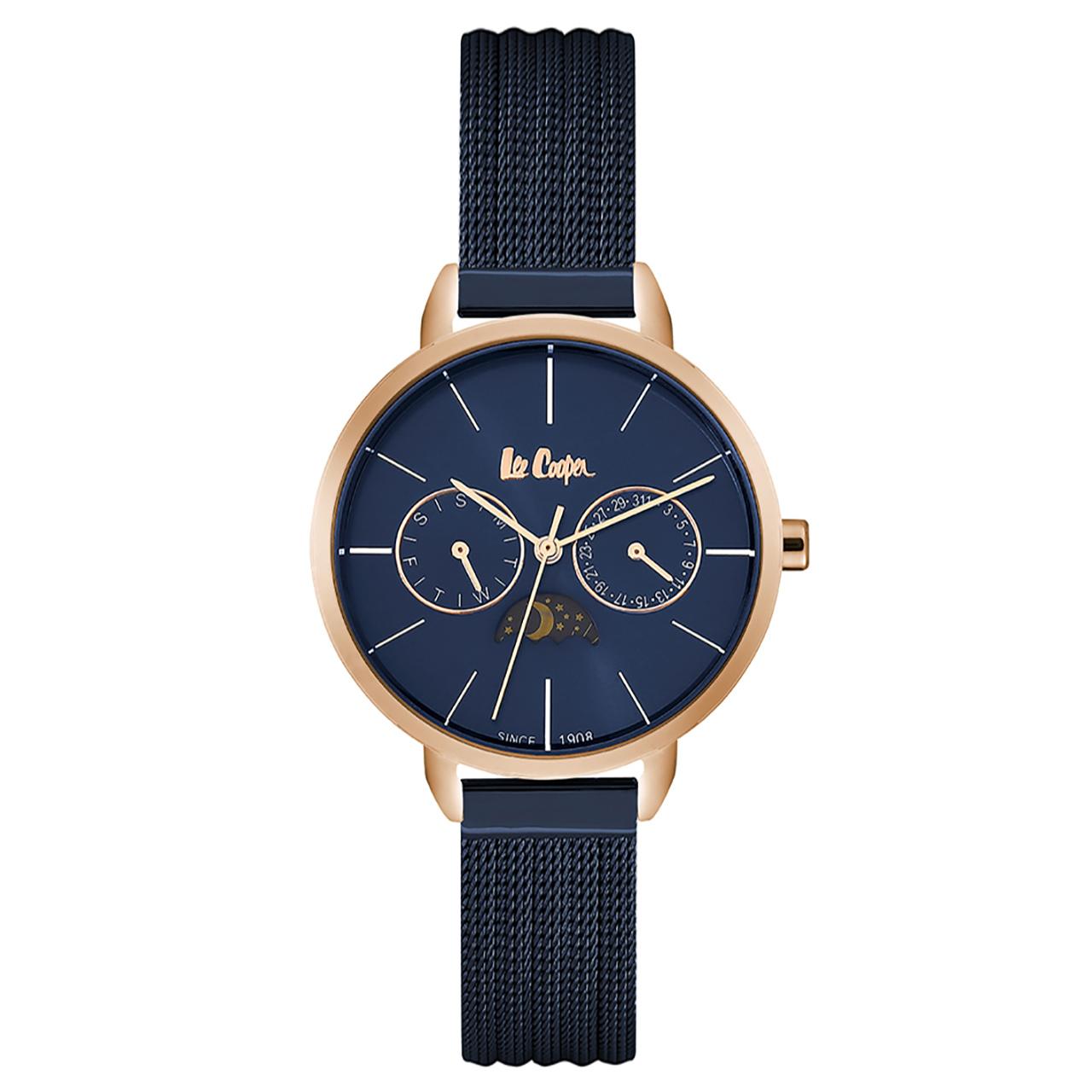 ساعت مچی عقربه ای زنانه لی کوپر مدل LC06482.490