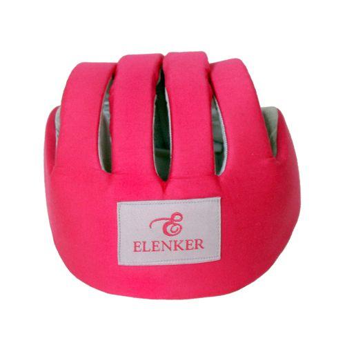کلاه ضربه گیر کودک الن کر مدل pink با لایه ضربه گیر IXPE