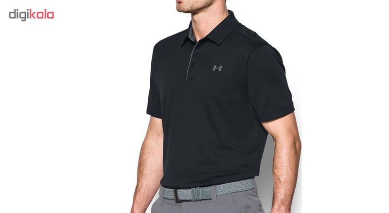 پولوشرت ورزشی مردانه آندر آرمور مدل Tech-Polo