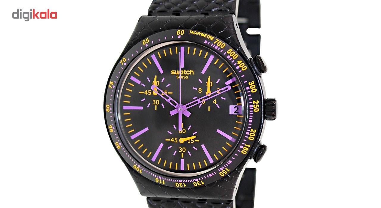 خرید ساعت مچی عقربه ای مردانه سواچ YCB4015AG