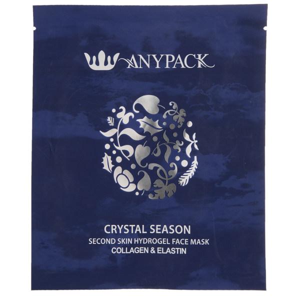 ماسک هیدروژنی لیفتینگ صورت آنی پک مدل Crystal Season مقدار 15.0 گرم
