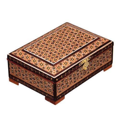 جعبه جواهرات خاتم کاری کد 1-70061