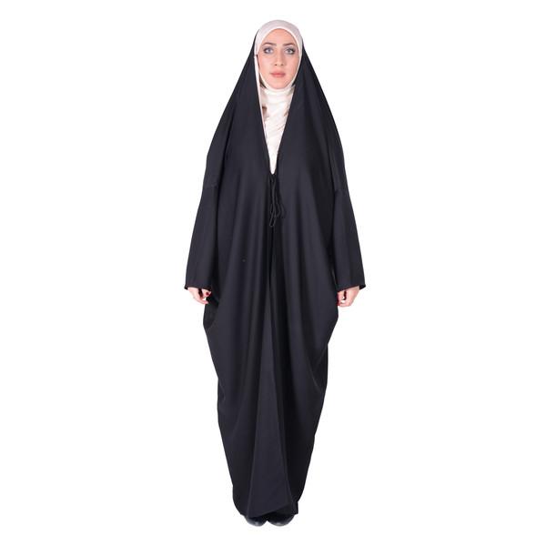 چادر اماراتی کرپ کن کن ژرژت شهر حجاب مدل 8017