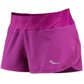 شلوارک ورزشی زنانه ساکنی مدل PINNACLE   Saucony PINNACLE Short For Women