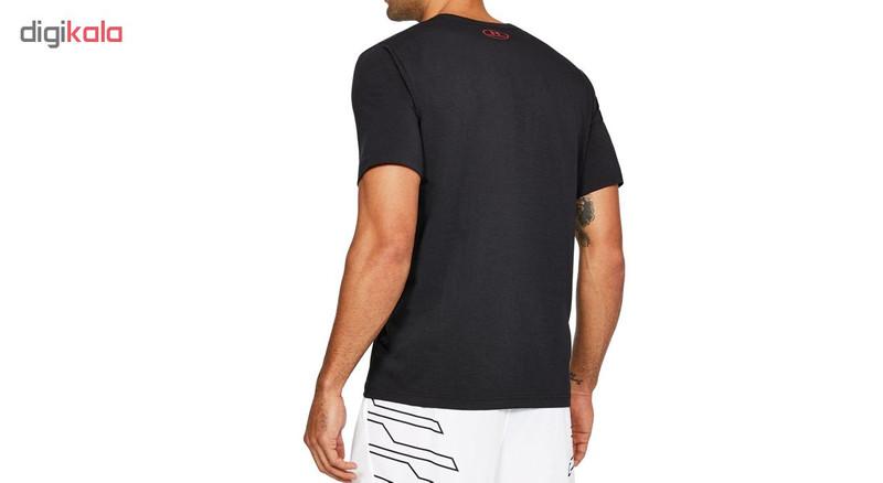 تی شرت مردانه آندر آرمور مدل Basketball Wordmark SS