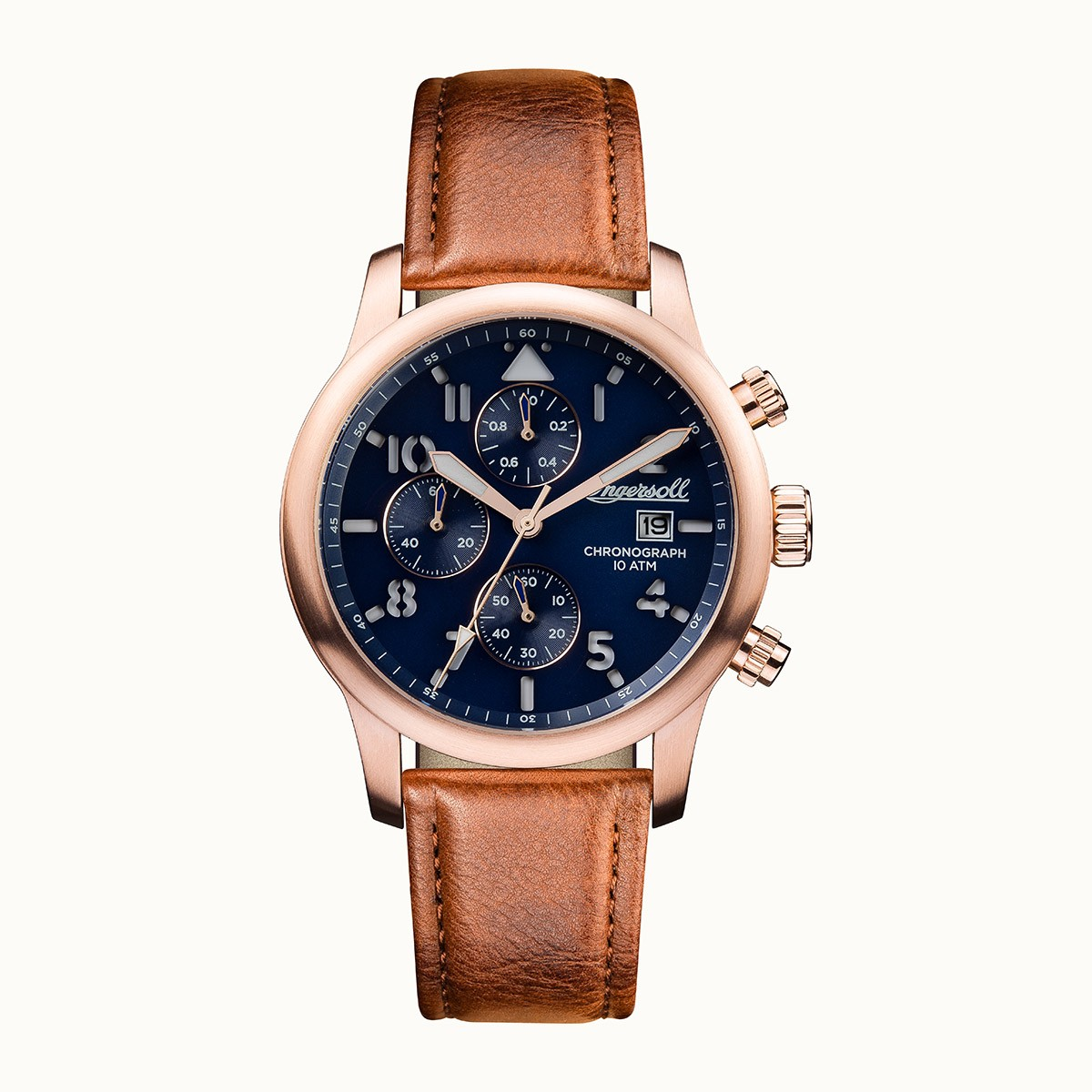 ساعت مچی عقربه ای مردانه اینگرسل مدل I01502 7