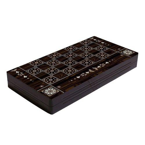 صفحه شطرنج و تخته نرد طرح صدف 2