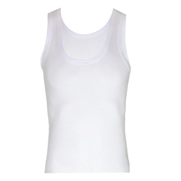 زیرپوش جیبر مدل Askili atlet سفید 101