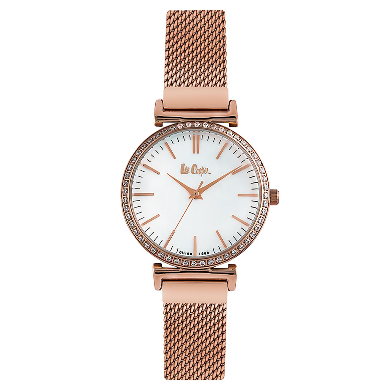 ساعت مچی عقربه ای زنانه لی کوپر مدل LC06534.420
