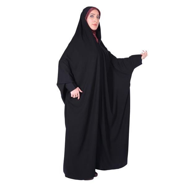 چادر اسماء شهر حجاب حریرالاسود مدل 8054