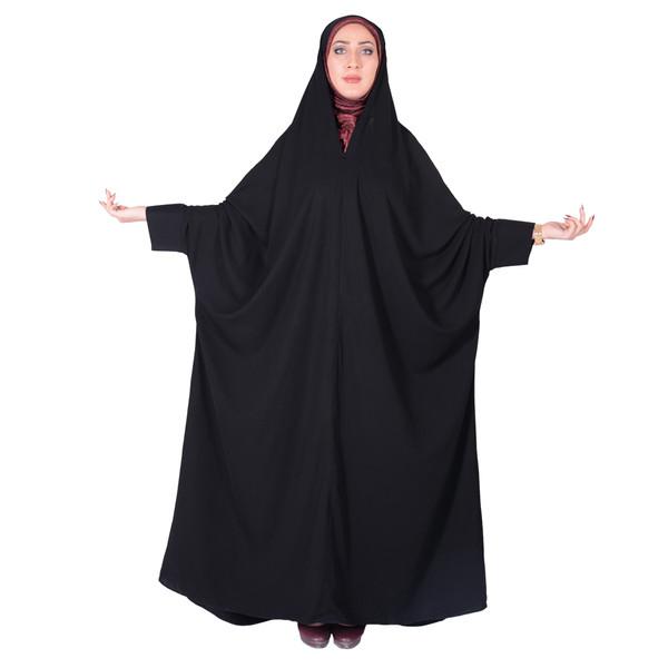چادر اسماء کرپ کریستال شهر حجاب مدل 8060