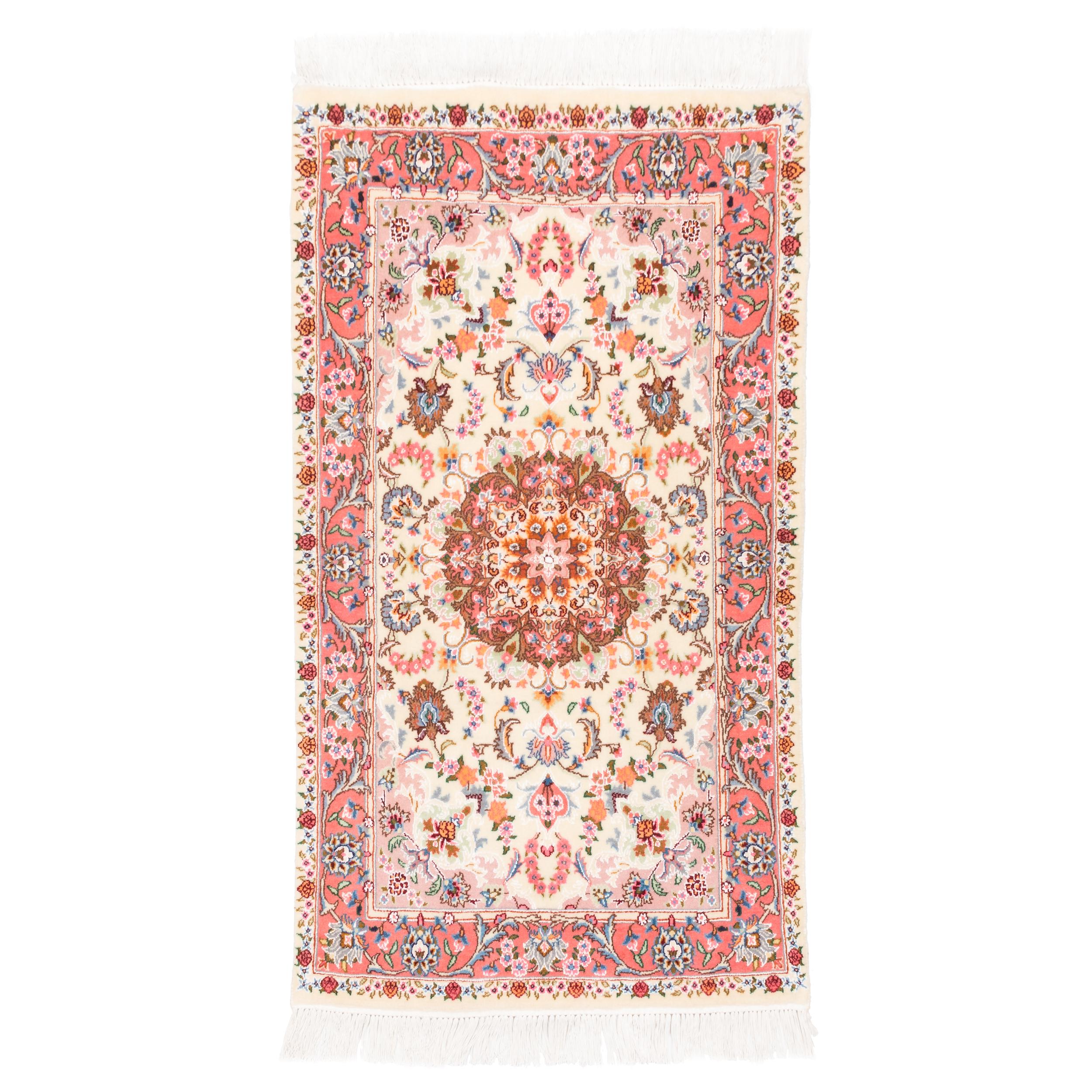 فرش دستباف قدیمی ذرع و نیم سی پرشیا کد 166088