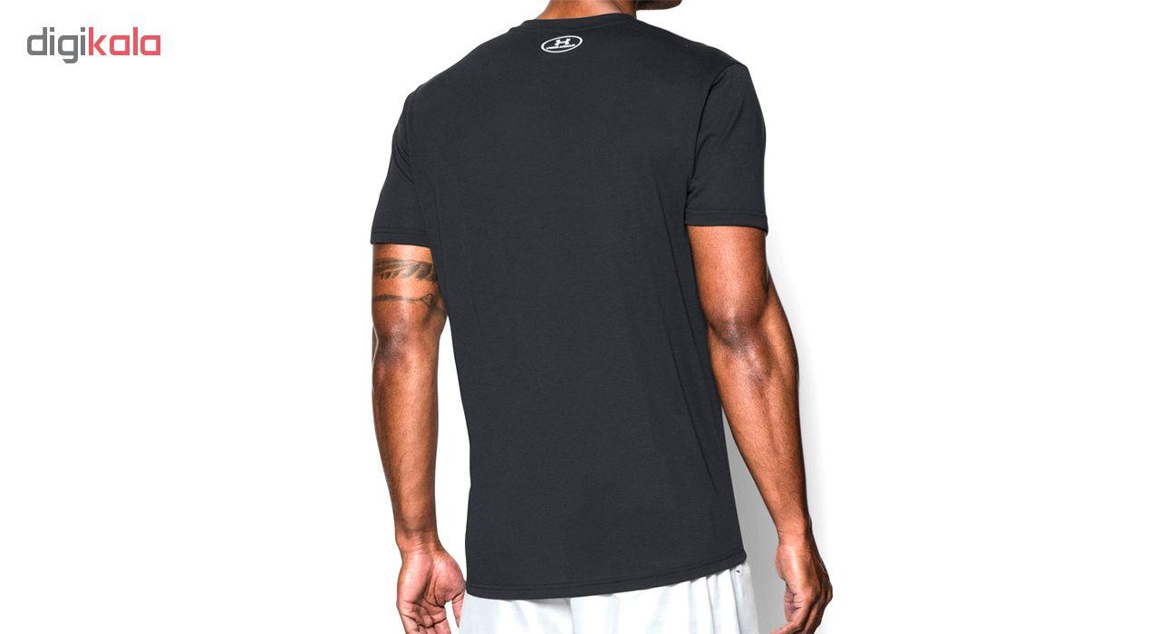 تی شرت ورزشی مردانه آندر آرمور مدل Streaker -  - 4