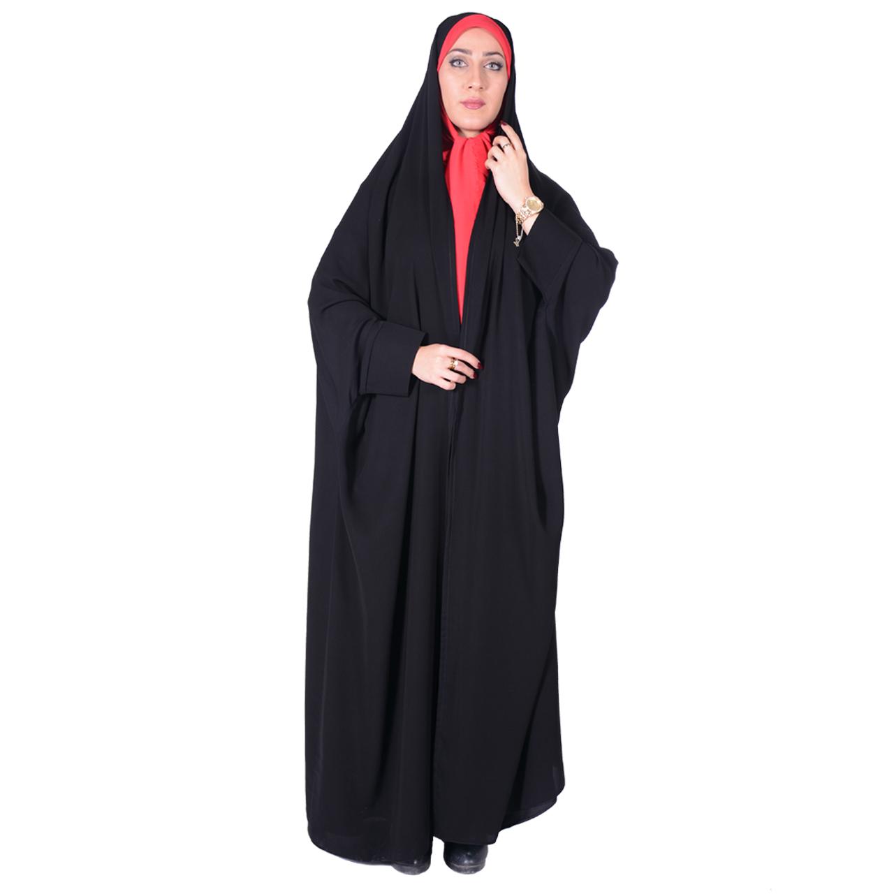چادر دانشجویی شهر حجاب مدل 8055