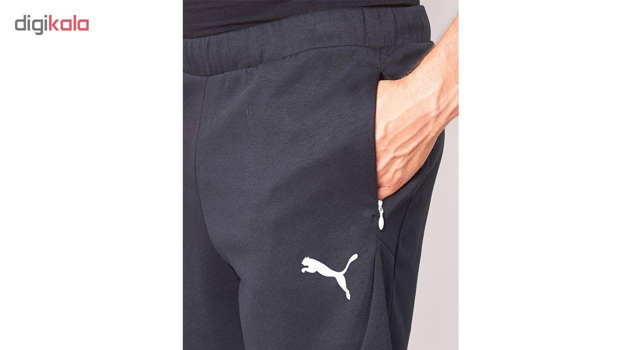شورت ورزشی مردانه پوما مدل Evostripe Lite Knit -  - 3