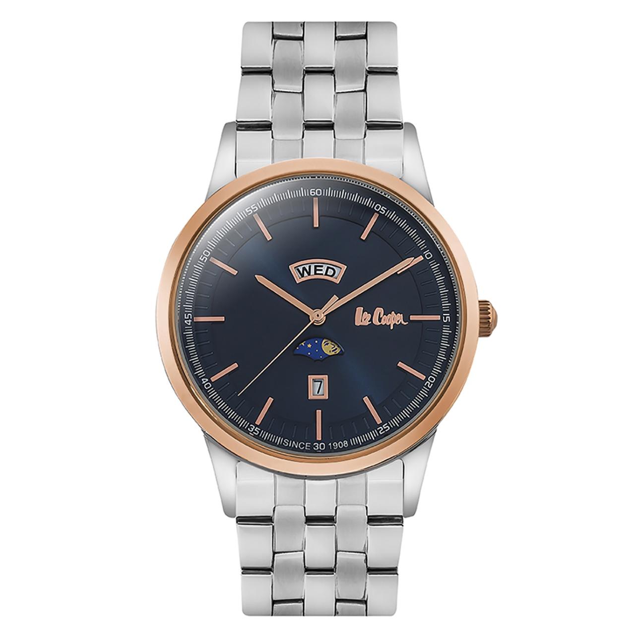 ساعت مچی عقربه ای مردانه  لی کوپر مدل LC06551.590 50