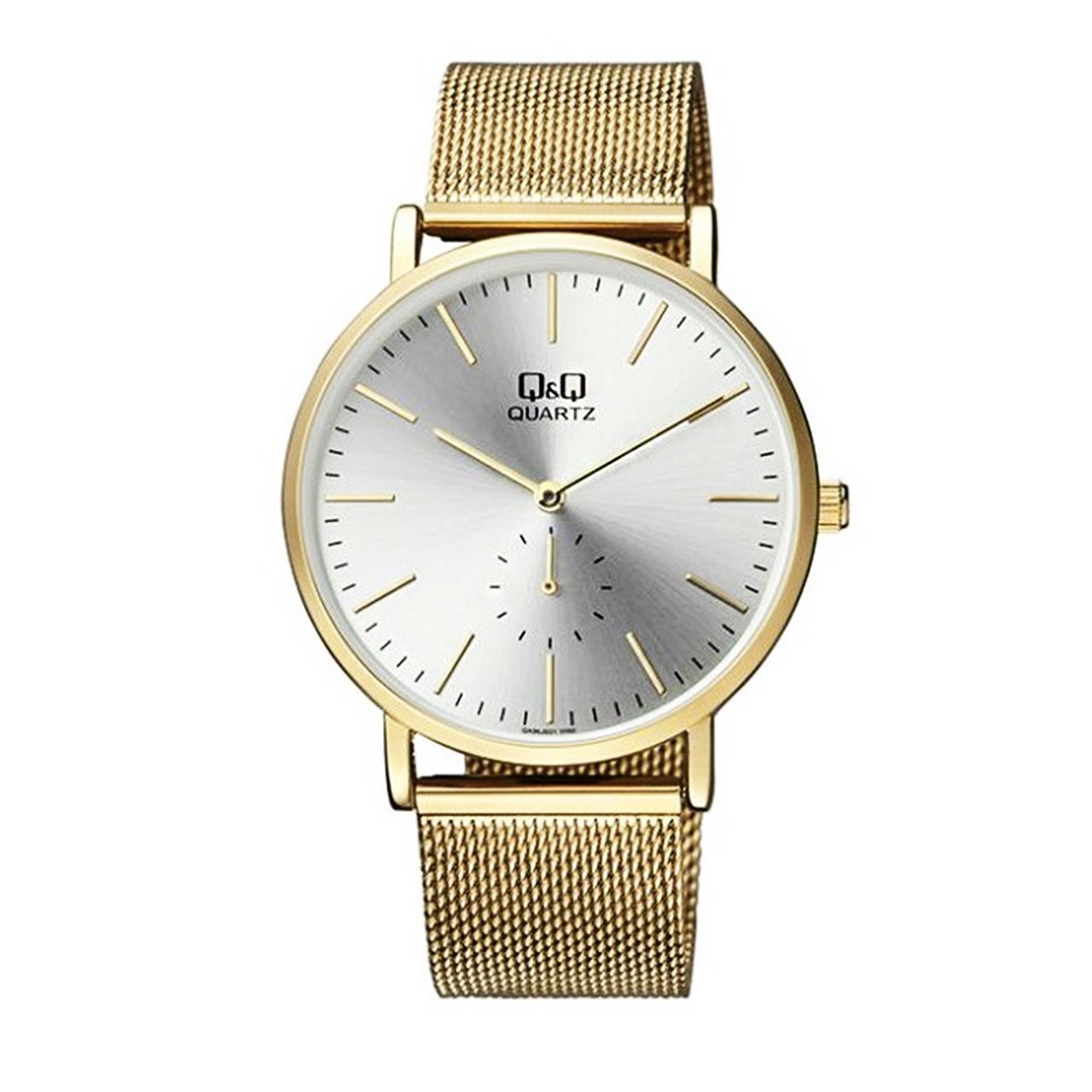 کد تخفیف                                      ساعت مچی عقربه ای مردانه  کیو اند کیو مدل qa96j001y
