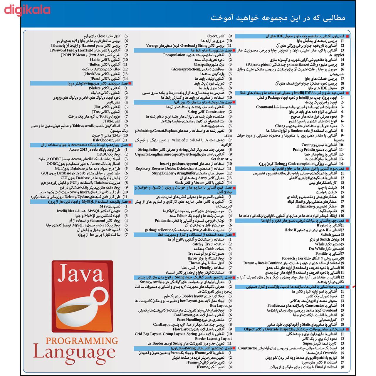 نرم افزار آموزش Python نشر مهرگان به همراه نرم افزار آموزش JAVA main 1 2